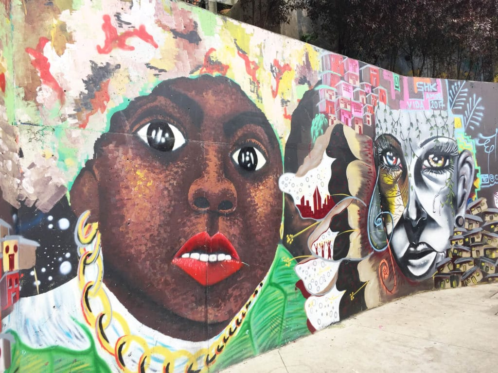Medellin Graffiti Tour Afro descendant Sight