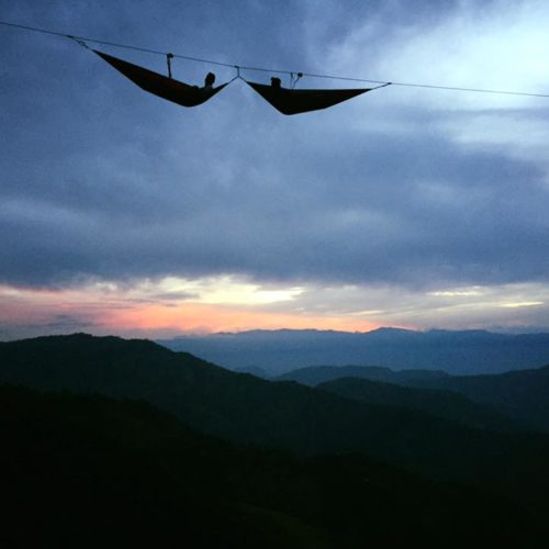 hammocks in the Air Medellin