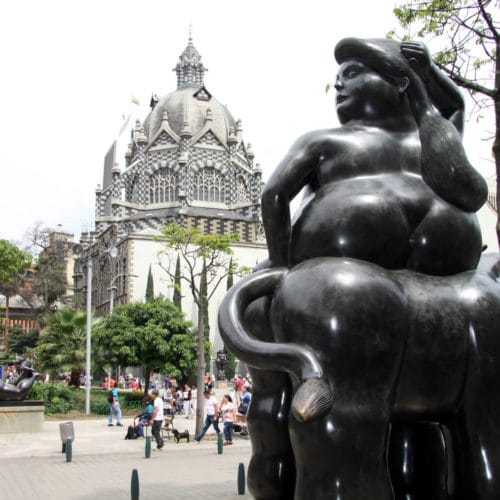Botero Statue Medellin City tour Tika Travel