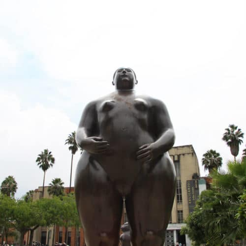 Botero Fernando Statue Medellin City Center Tika Travel Colombia
