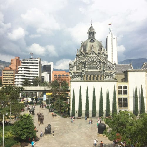 Plaza Botero Medellin City Tour Tika Travel