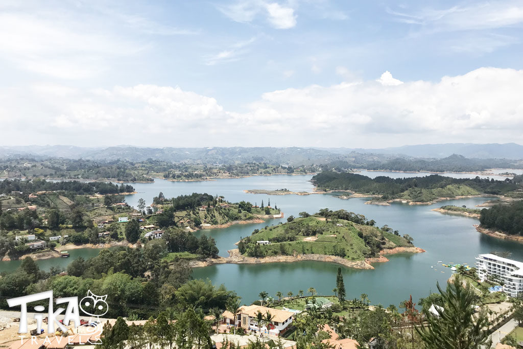 Guatape Medellin Tour Penol Rock Lake