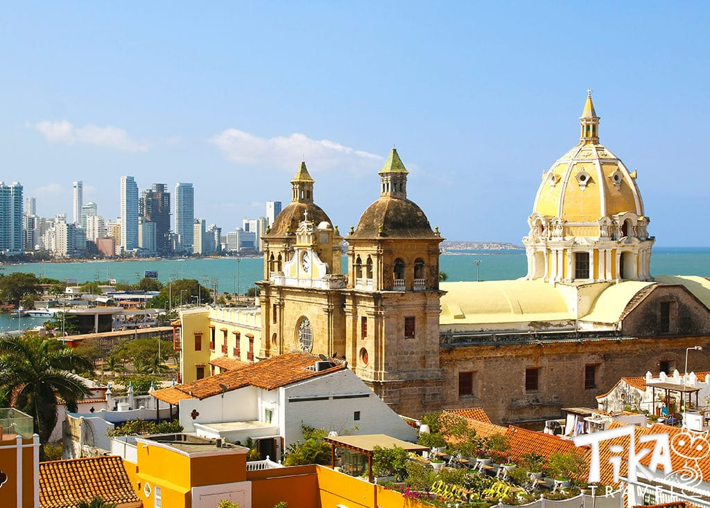 Cartagena Colombia Center Historic