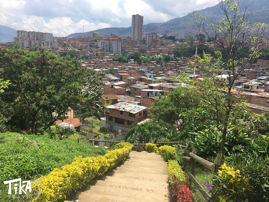 Moravia Medellin unexpected garden - Tika Travel Colombia